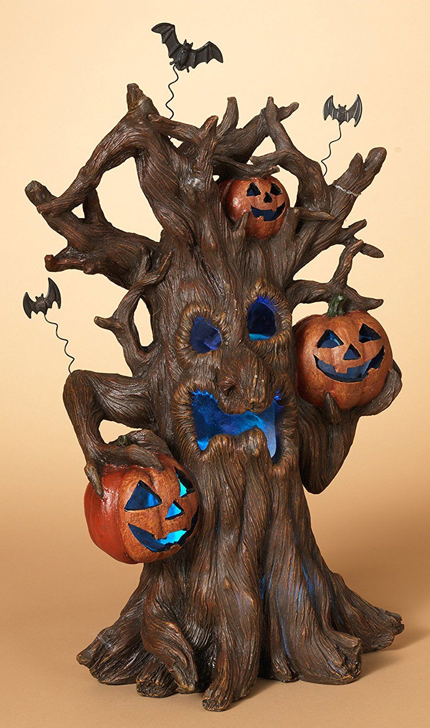 Large Lightup Spooky Haunted Tree with Sound