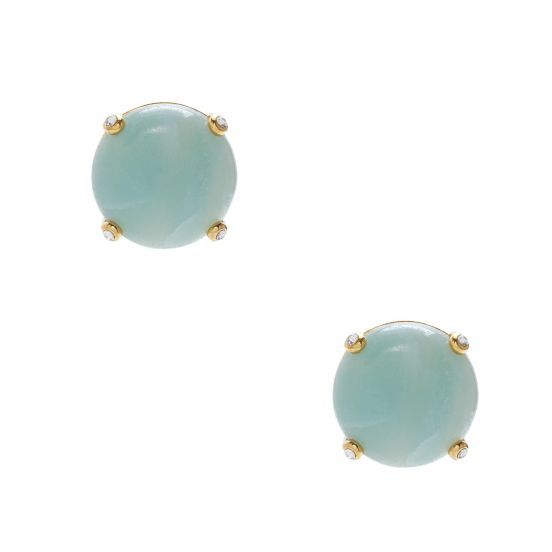 kate spade | quarry jewels studs in mint