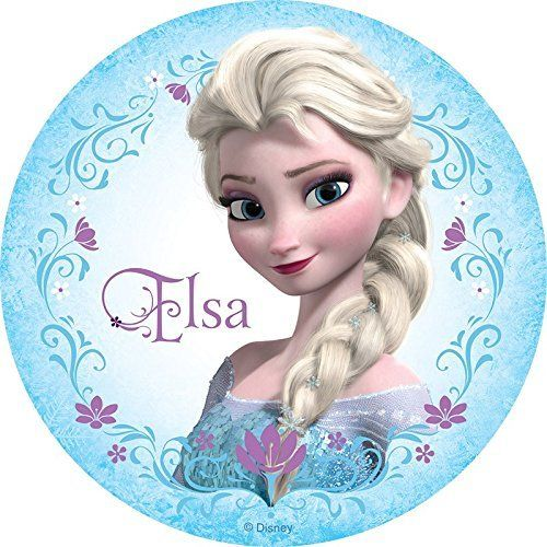 Frozen Elsa Anna Edible Image Photo Cake Topper Sheet Birthday Party 8 Inches Round 10049 Remarkable Produc Frozen Pictures Elsa Frozen Photo Cake Topper