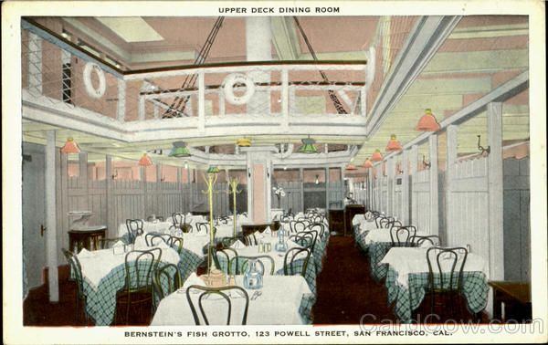 Bernstein's Fish Grotto - Upper Deck Dining Room