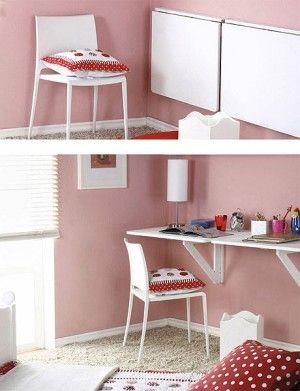 Su dormitorio ser su lugar en el mundo organizaci n - Mesas escritorio plegables ...