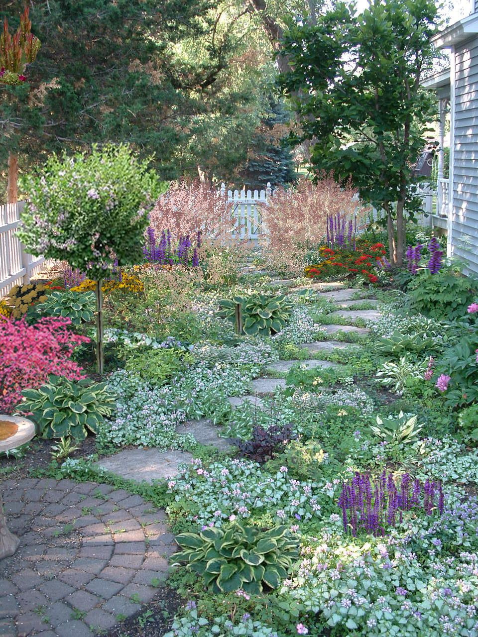 Low maintenance and beautiful so much soft color love for Beautiful gardens and maintenance