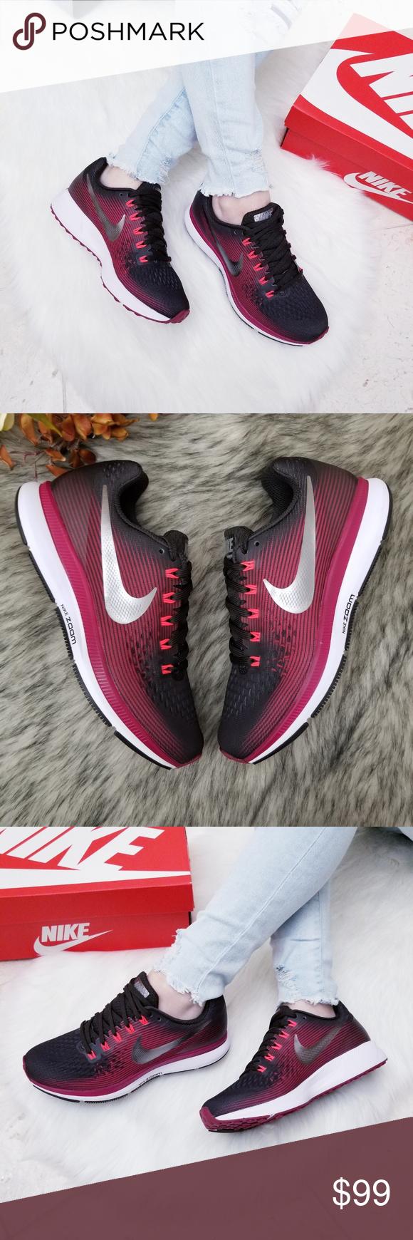 size 40 e37e4 28ea4 Nike Air Zoom Pegasus 34 Gem New In Box, No Box Lid, 100 ...