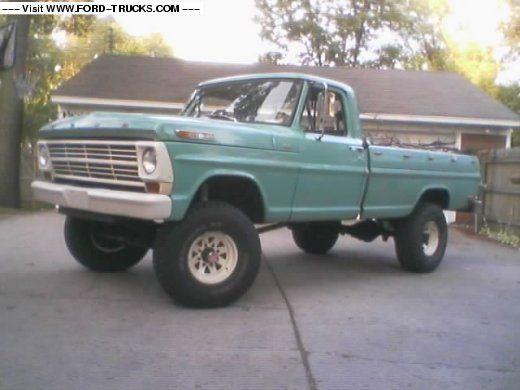 1968 Ford Truck | 1968 Ford F250 4x4 - 68 4X4 hiboy project