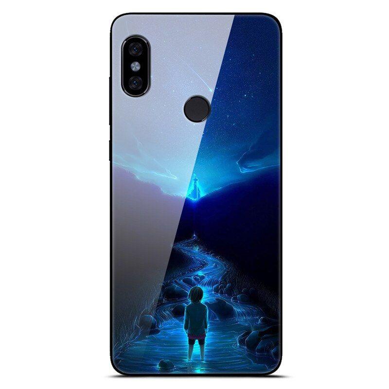 For Xiaomi Mi A2 Lite Case Glass Back Cover Pc Protector Phone Case For Xiaomi Redmi 6 Pro Mi A2 Lite 5 84 Xiaomi Phone Cases Phone