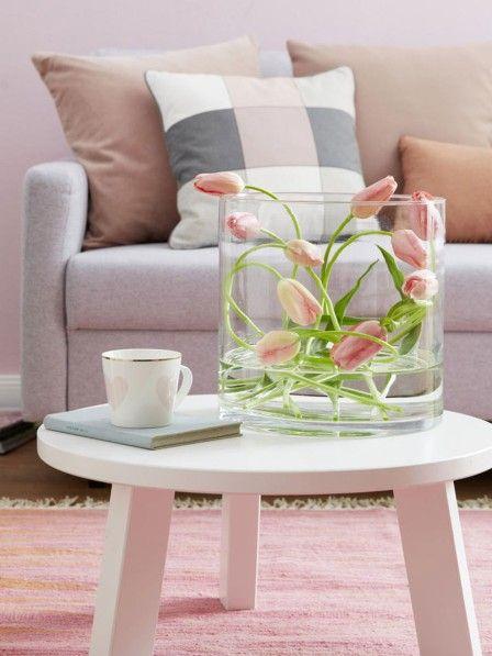 5 einfache Deko-Ideen mit Tulpen und Ranunkeln | Simple ...