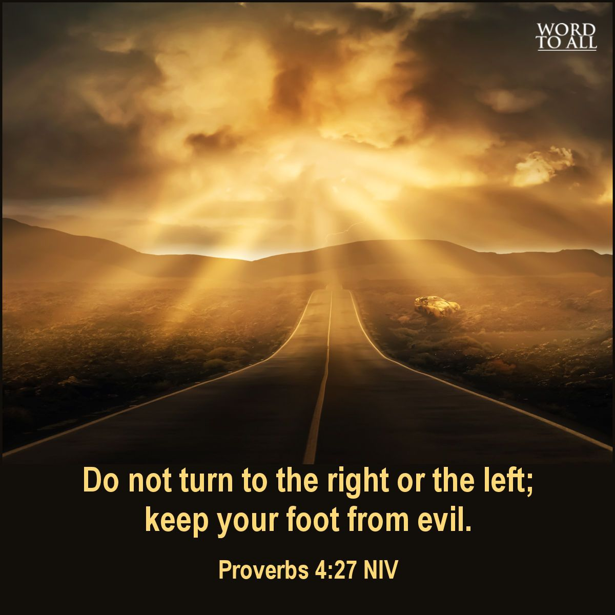 Image result for do not turn to the left or to the right bible verse
