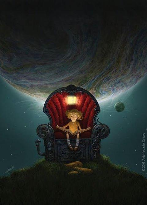 Leggere di notte è come dominare il mondo.