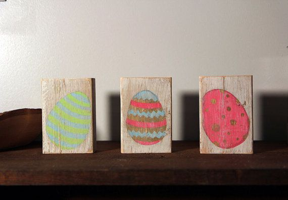 Easter Eggs Block by SimpleRemnant on Etsy
