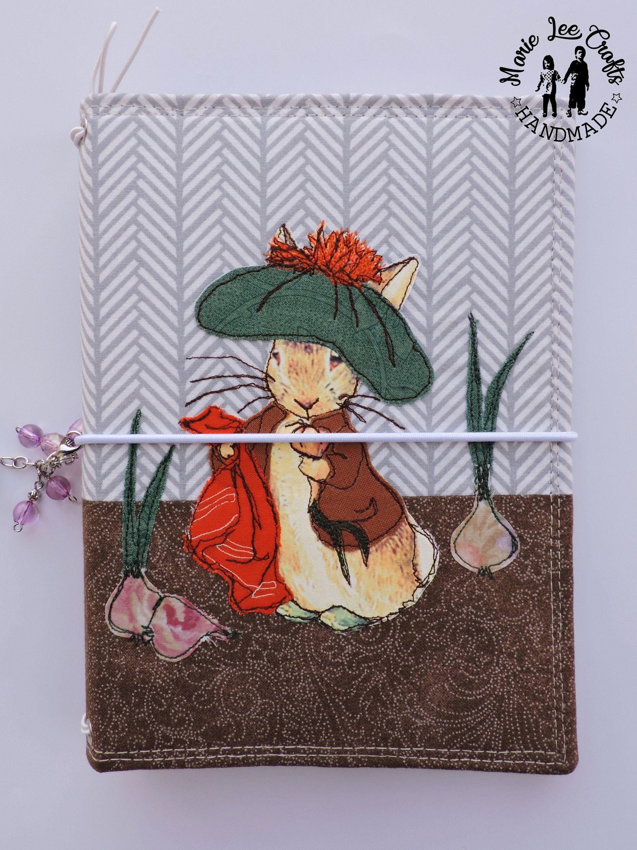 4d191784d63d0 Travelers Notebook Fabric Cover, Benjamin Bunny by Beatrix Potter ...