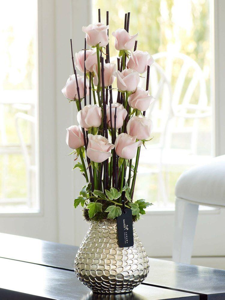 Compositions florales 77 idées pour la déco avec des fleurs