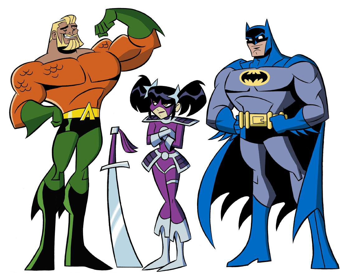 Batman The Brave And The Bold Characters By James Tucker Comic