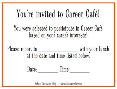 Printable Career Caf Pass School Counselor Blog Career Caf