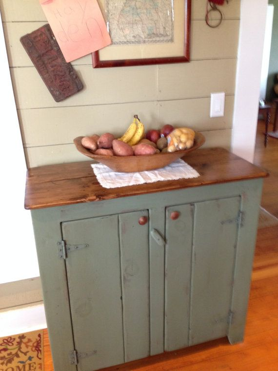 Perfect Sideboard, Rustic Sideboard, Primitive Sideboard, Buffet, Storage Cabinet,  Kitchen Cabinet On