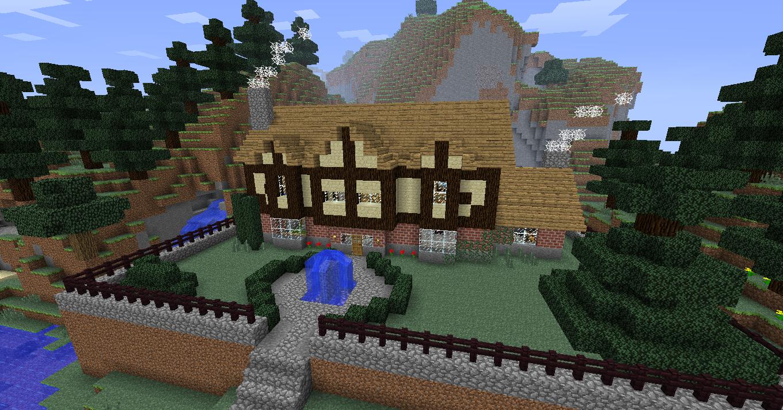 Minecraft Tudor Mansion Mansions Tudor Minecraft