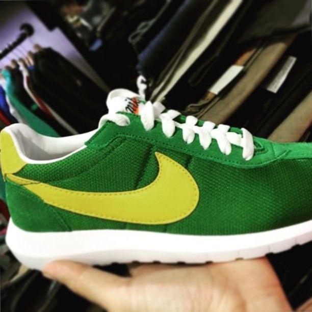 Big Discount Nike Roshe Ld-1000 Trainers - Green/Yellow/White/Orange