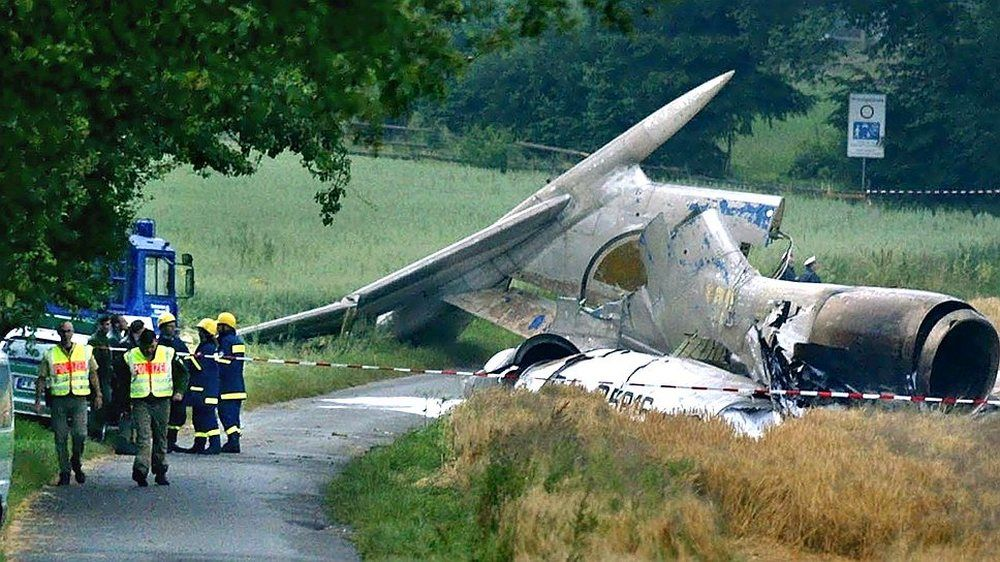 The Collision Of Bashkirian Flight 2937 Dhl Flight 611 2002 Is The Deadliest Air Disaster To Take Place In Germany Deaths 71 All