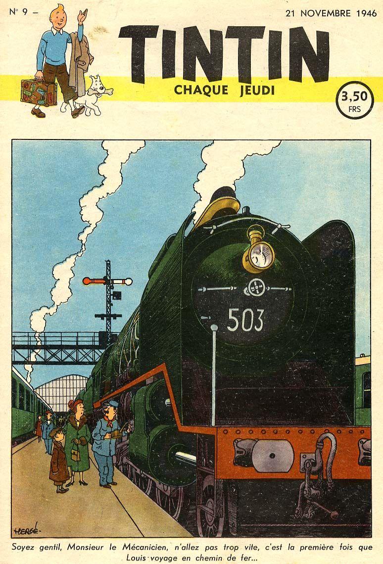 Journal de TINTIN édition Belge N° 9 du 21 Novembre 1946 | Hergé ...