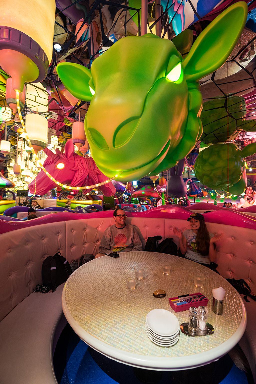 Kawaii Monster Cafe The Most Bizarre Restaurant In Harajuku Tokyo Travel Caffeine Kawaii Monsters Beautiful Places In Japan Tokyo Travel