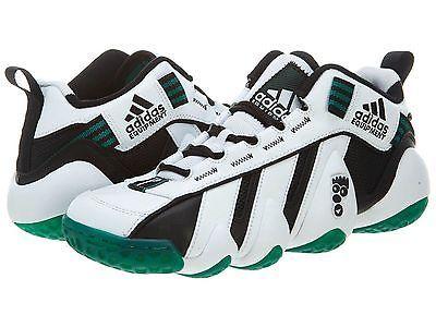 new style cb8e4 109c6 Adidas Eqt Key Trainer Shoes Mens Black White Sub Green D73790 Sneakers