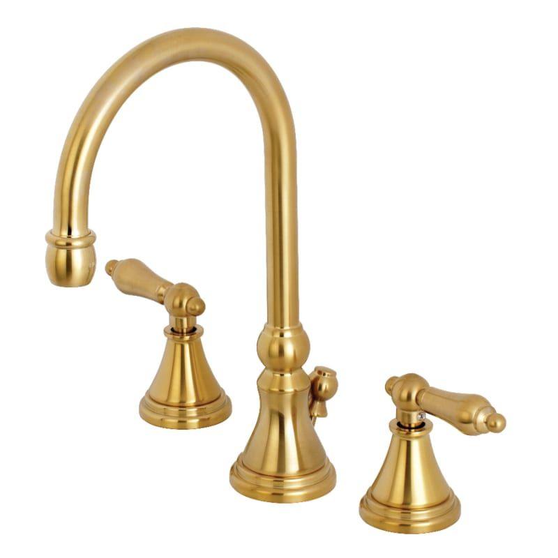 Kingston Brass Ks298 Al In 2020 Kingston Brass Widespread