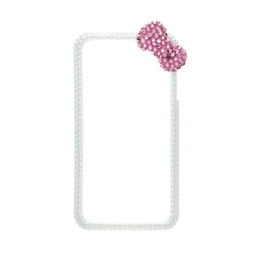 Pearl Bow Phone Bumper - iPhone 4/4S Compatible