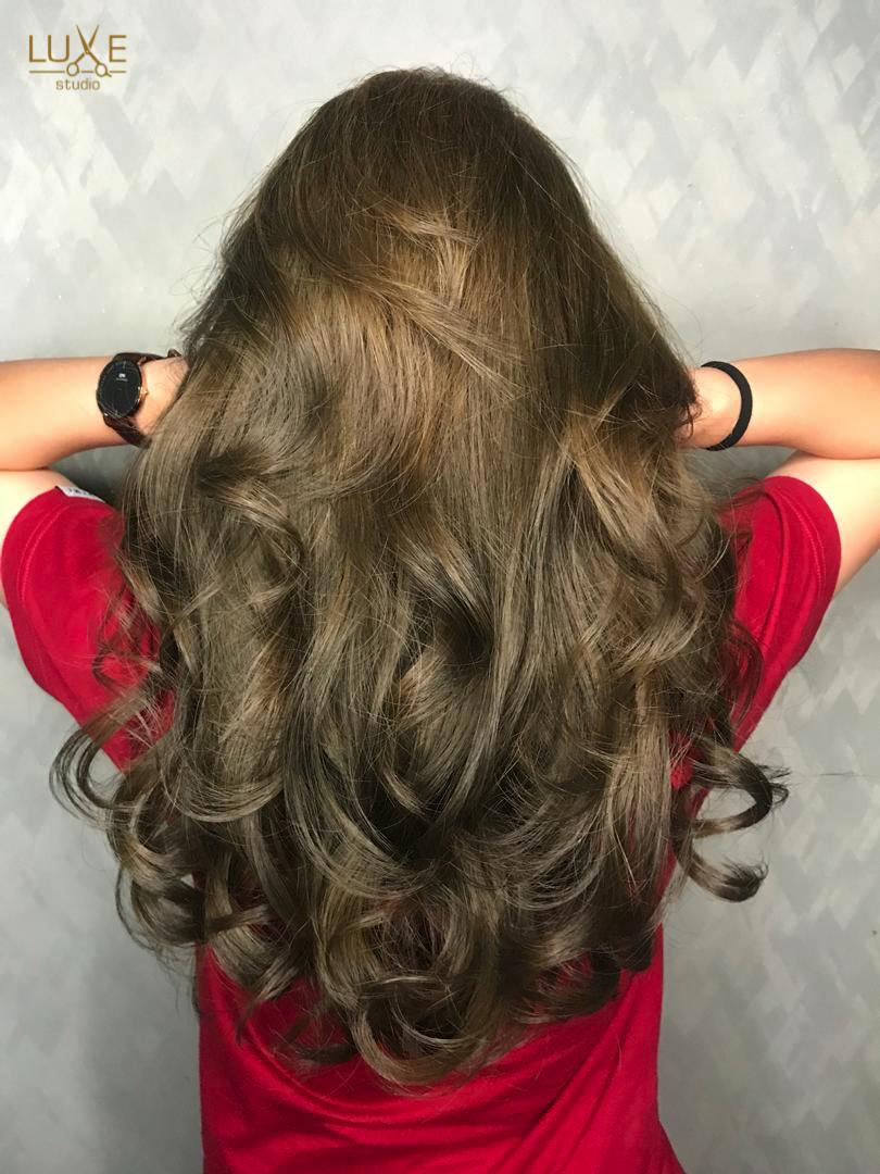 Korean Wave Perm Permed Hairstyles Wave Perm Hair Color Caramel