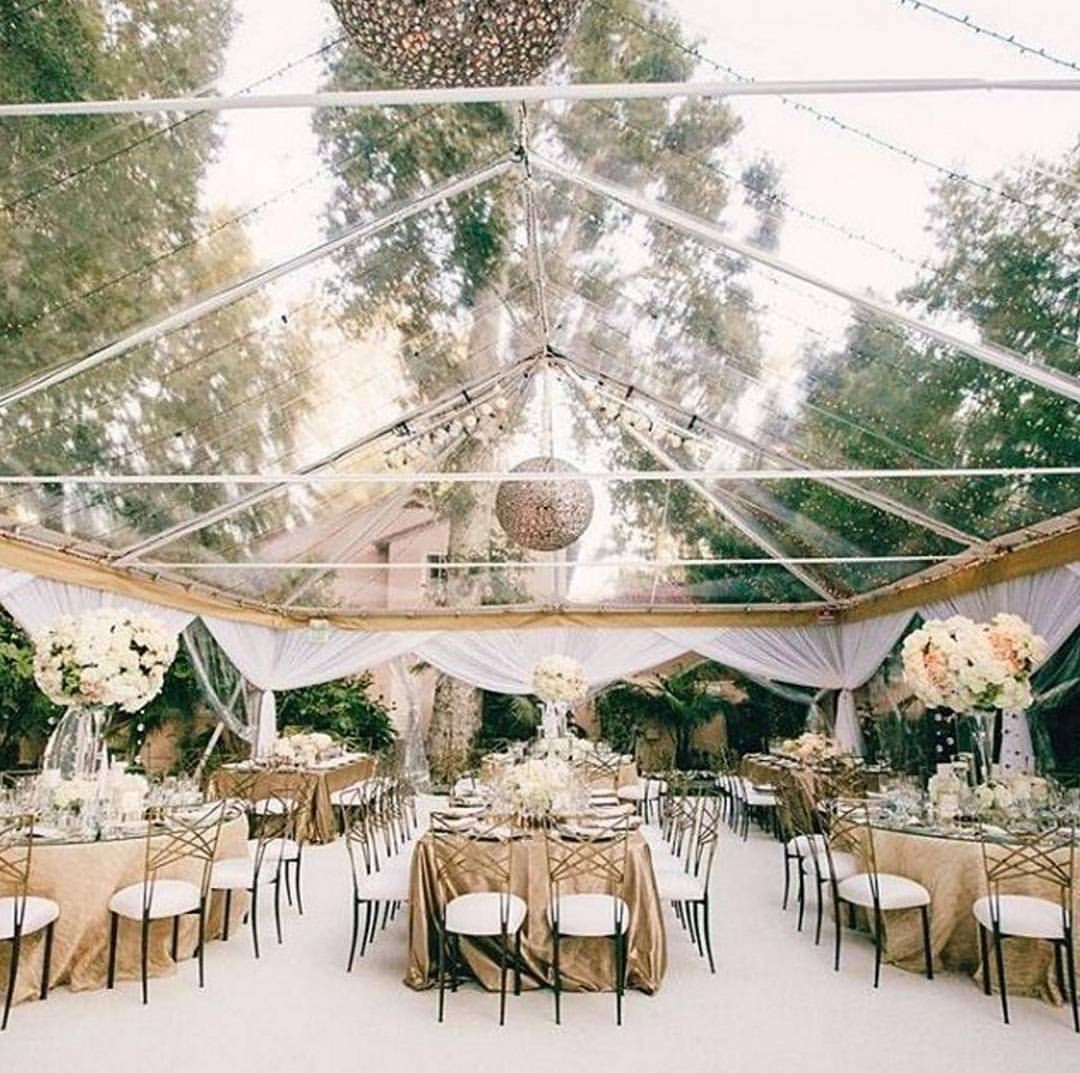 Beautiful Clear Marquee