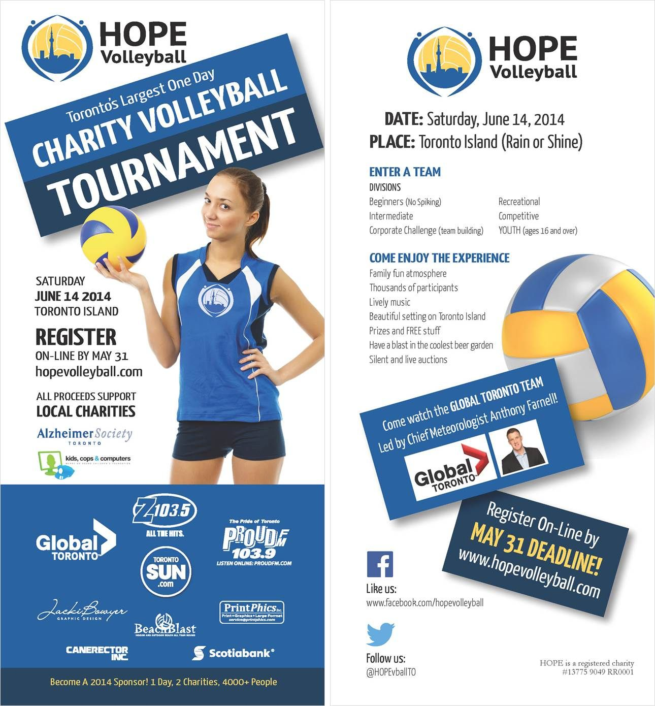 26th Annual Hope Charity Volleyball Tournament The Largest And Most Unique 1 Day Volleyball Tournament In The T Volleyball Tournaments Tournaments Volleyball