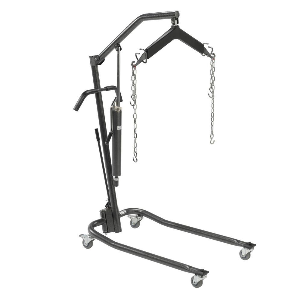 Drive Hydraulic Patient Lift With 6 Point Cradle 3 In Casters