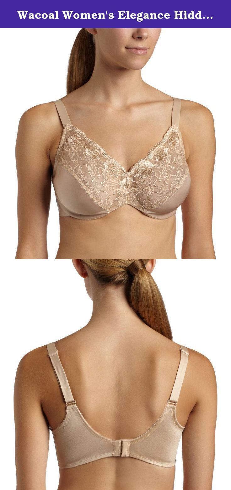 926e9925a9 Wacoal Women s Elegance Hidden Wire Minimizer Bra with Embroidery. Reduce  your bust up to 1