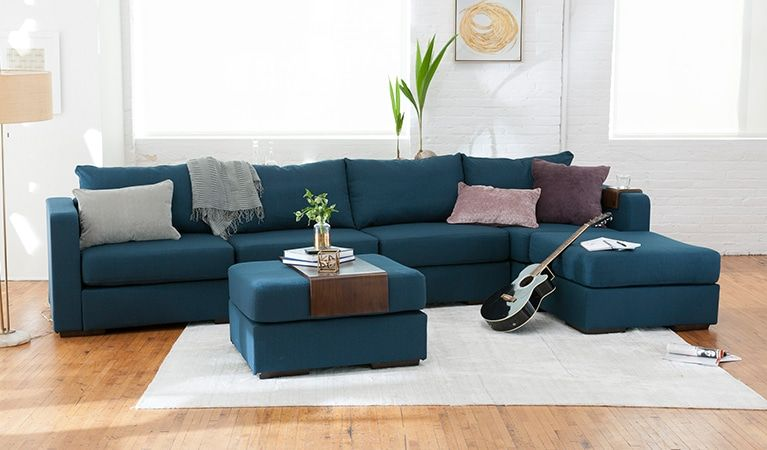 6 Seats 6 Sides Relaxation Room Couches For Small Spaces
