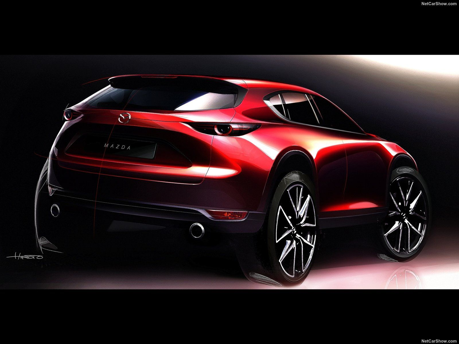 Mazda Kai Concept Sketch Automobile Sketch Ext Car Design