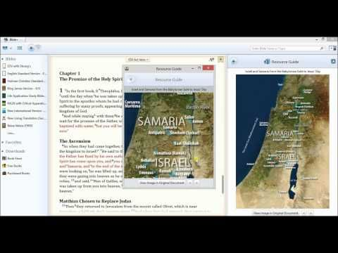 Olive Tree Bible Maps for the Bible Study App, Bible Study