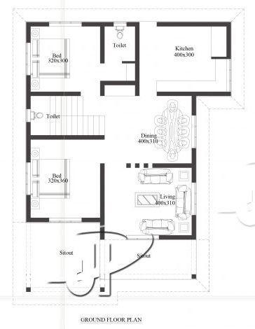 Stunning 4 Bedroom Budget Kerala Home Design in 1615-Sqft ...