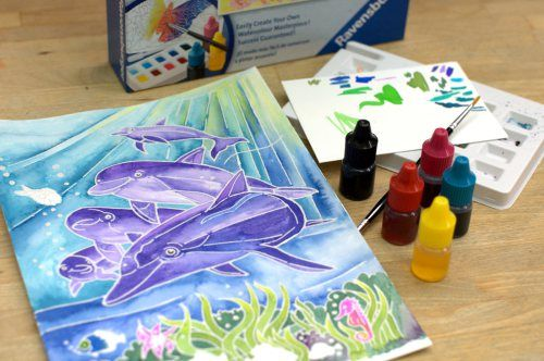 Watercolor Fish Projects Kids Art Projects For Kids