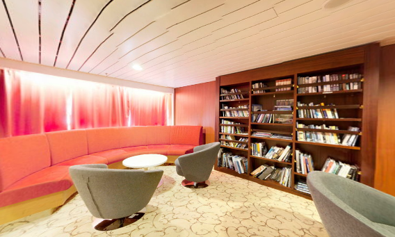 Did you know? Our M/S Expedition has a Lonely Planet Library!