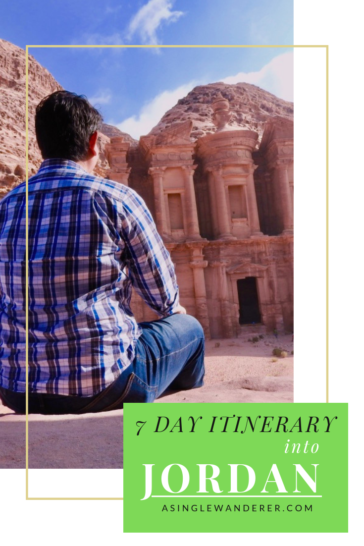 7 Day Intinerary - Jordan #traveltojordan