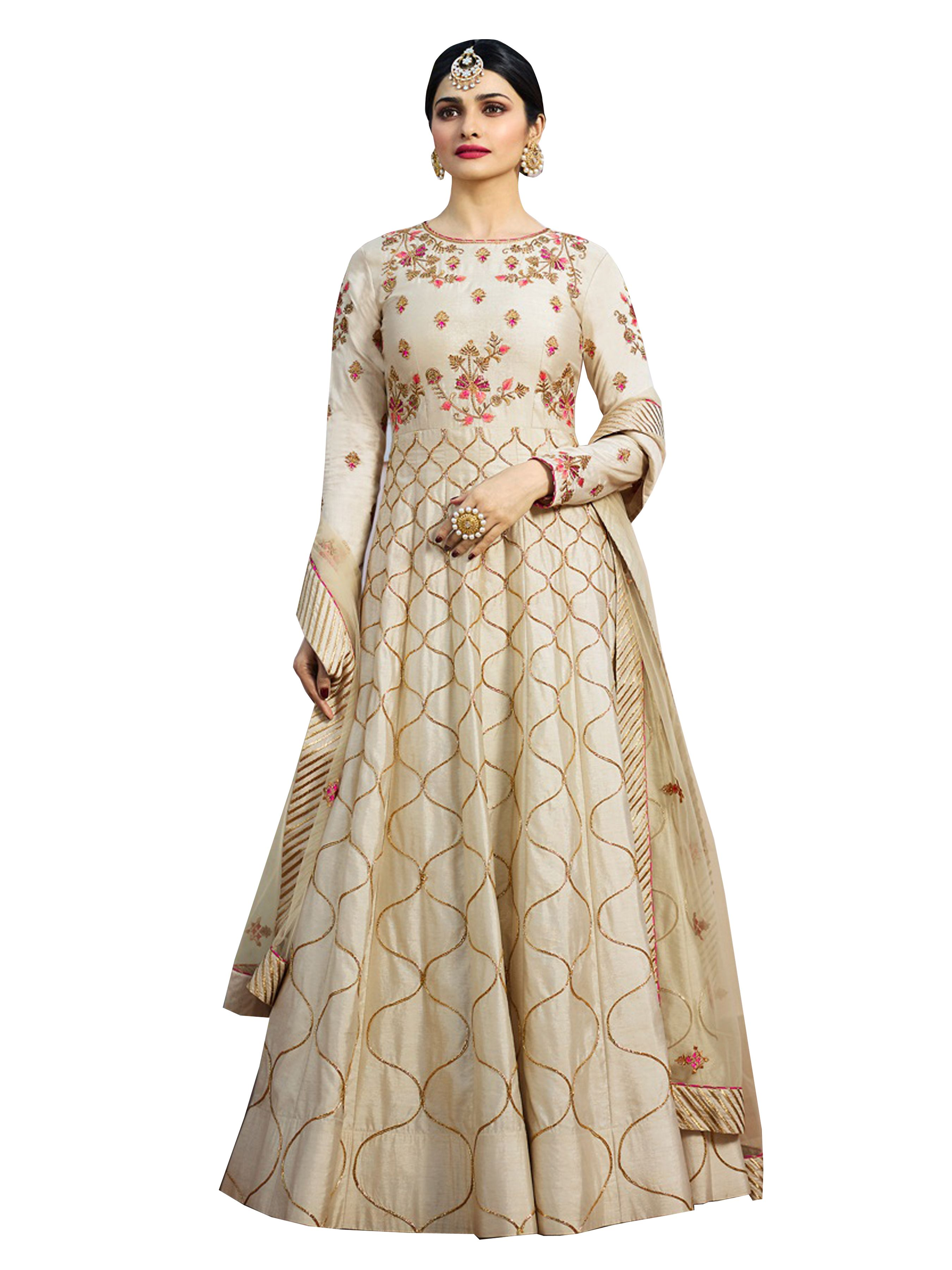 33b25bb695 Faux Georgette Embroidered Semi-stitched Salwar Suit   Only on  samarendram.wooplr.com   Best Dress Material & Suits Online
