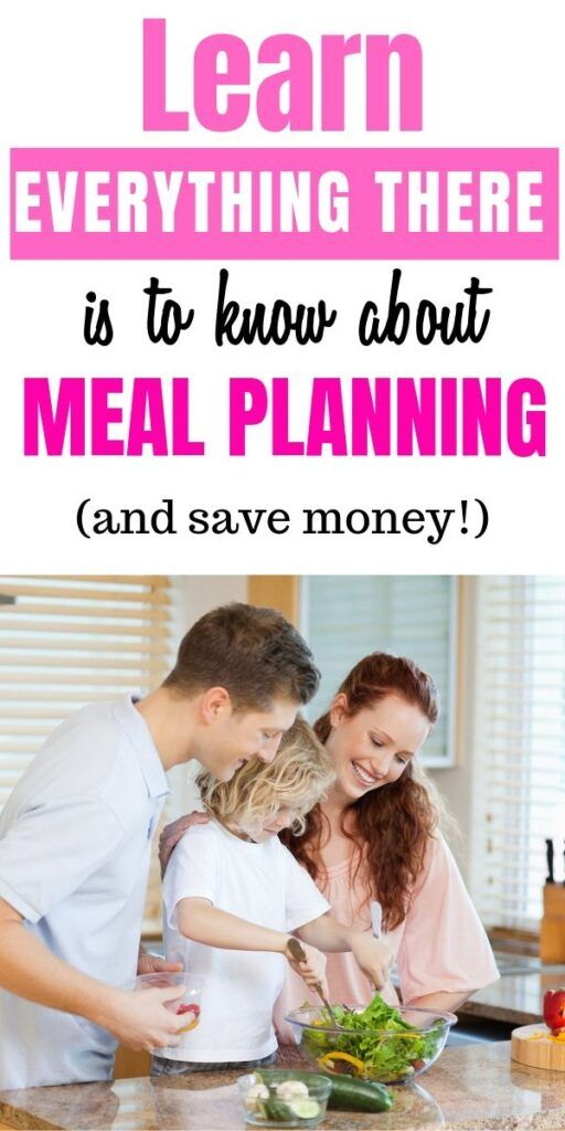 How A Family Meal Planner Can Save You Time & Money images