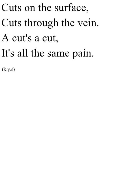 Emo Quotes About Suicide: Tumblr-poems-about-self-harmsuicide-personal-self-harm-cut