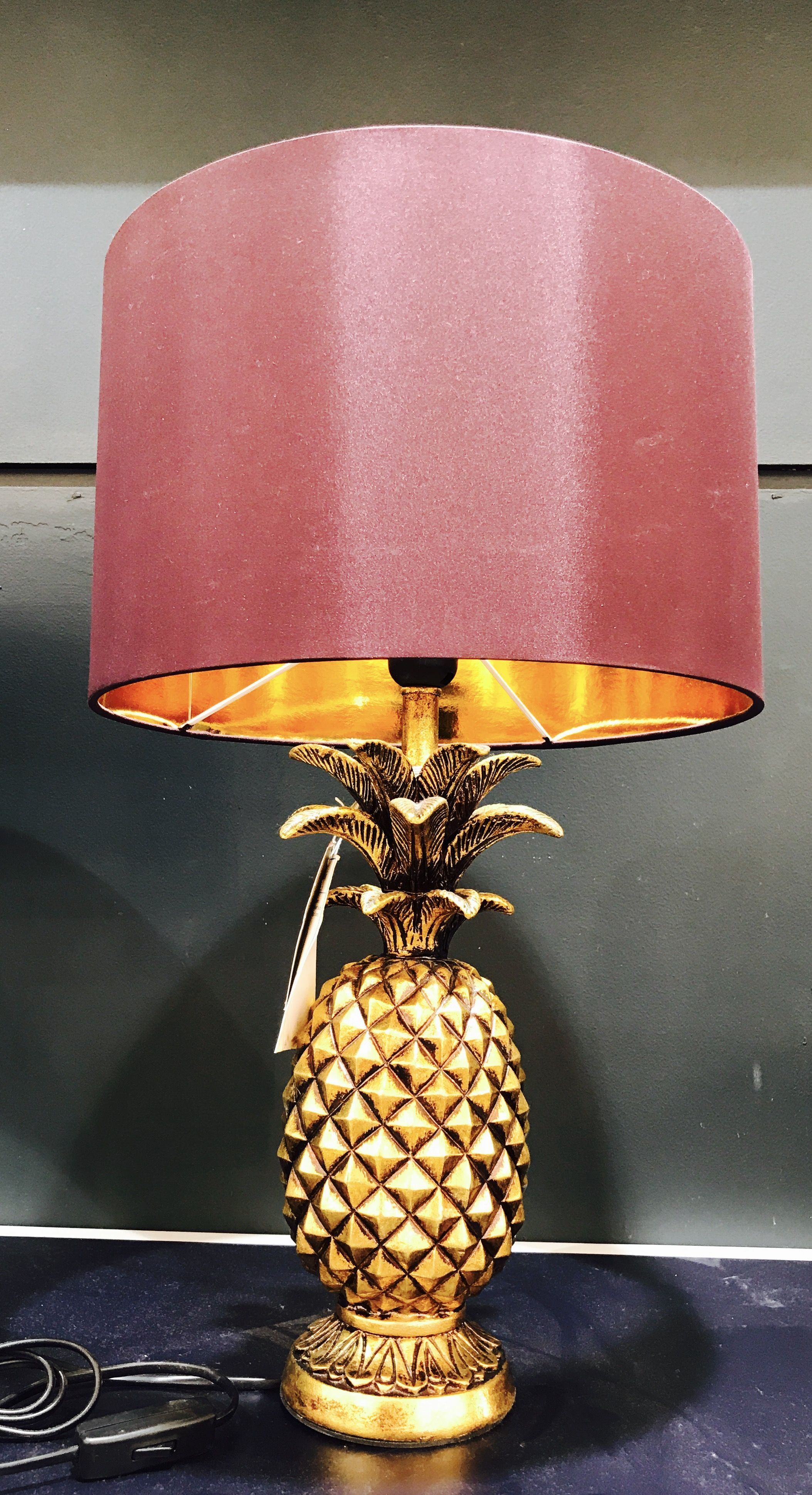 Pin by verla nathaniel on home decor pinterest pineapple lamp pineapple lamp gold pineapple debenhams liverpool the homestead matthew williamson contemporary furniture table lamps butterfly butterflies aloadofball Gallery