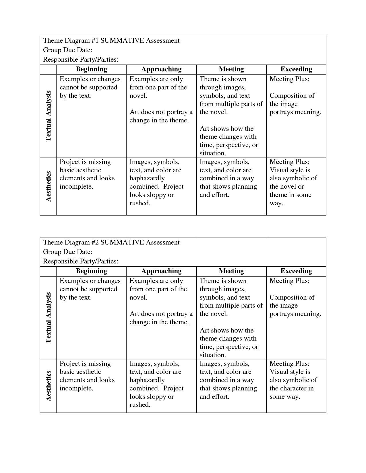 Theme Worksheets 2nd Grade Reading Themes Determine Theme Third Grade Writing