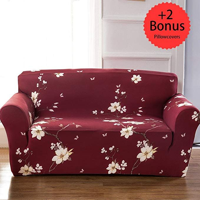 Sobibo Spandex Fabric Stretch Couch Cover Slipcover For 3 Cushion 70 90 Review