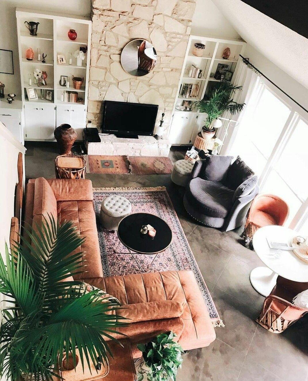Boho Living Room Decoration In 2020 Home Decor Unique Home Decor Home Decor Shops