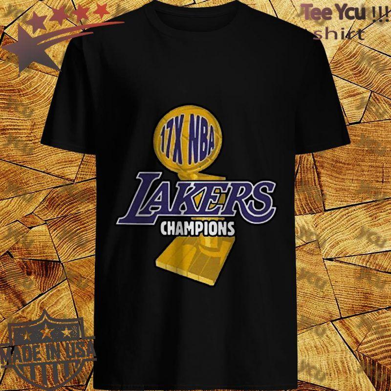 Los Angeles Lakers 2020 Nba Champions 17x Shirt T Shirt Shop In 2020 Nba Champions Los Angeles Lakers Lakers