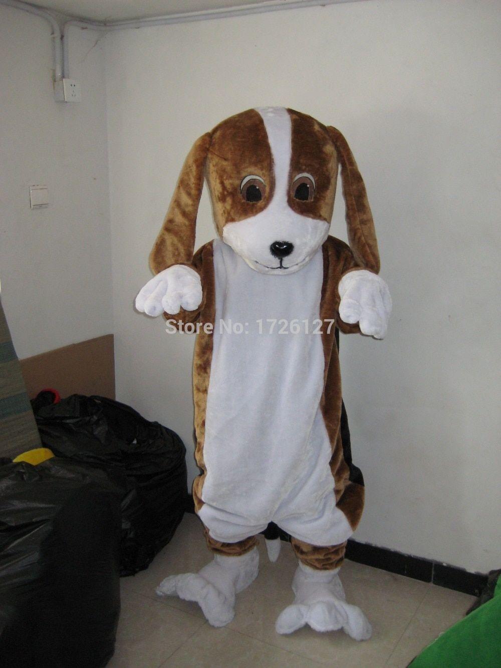 mascot Hound dog mascot Beagle dog costume custom fancy