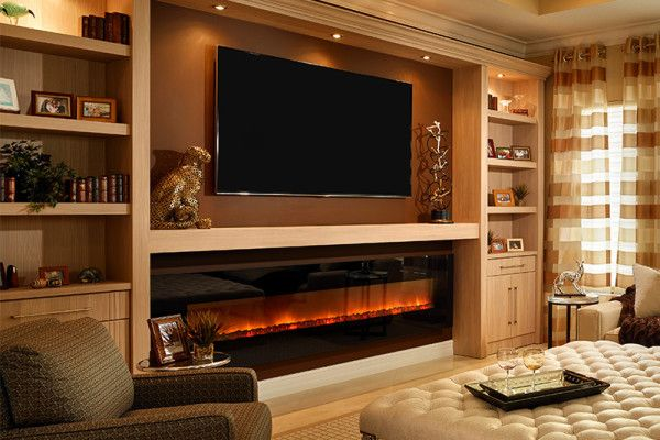Residential fireplaces Pinterest - tipos de chimeneas