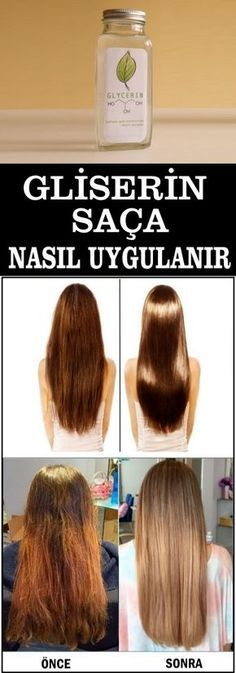 Gliserin Saca Nasil Uygulanir Www Vipbakim Com Sac Saglikli Sac Kendin Yap Sac