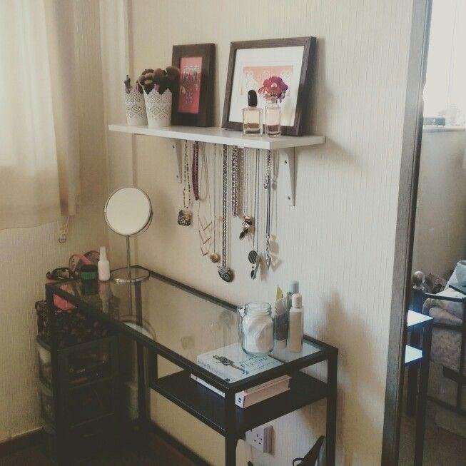 Small Space Vanity Vittsjo Desk Ikea Vanity Inspiration Interior E Room